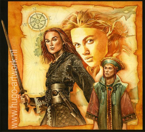 Keira Knightley por HugoBaur